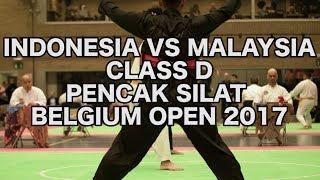 Indonesia VS Malaysia | Class D | Pencak Silat Belgium Open 2017