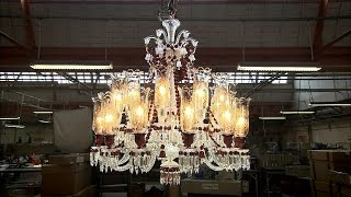 Crystal Chandeliers | How It's Made