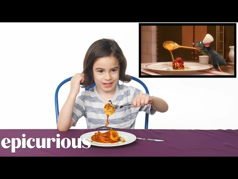 Kids Try Famous Foods From Movies From Harry Potter to Ratatouille