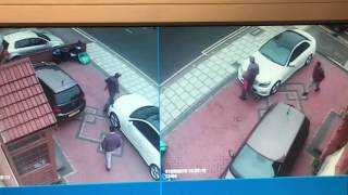 Car stolen from Gants Hill - Ilford - London - Mercedes C250 Sport