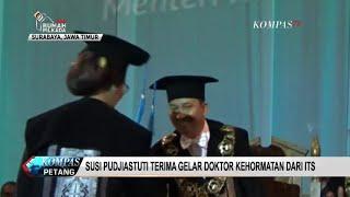 Raih Gelar Doktor Kehormatan, Menteri Susi Terharu