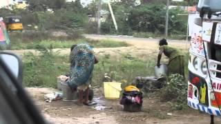 India Women washing Clothes