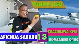 Lisu afunguka MAZITO TENA kuhusu ndege inayokuja ya Bombardier