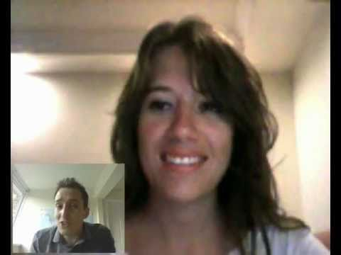 Watch a live online English lesson with native English teacher on Skype April 2017