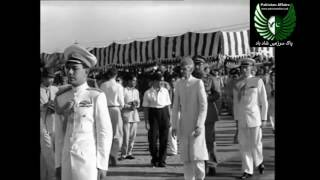 A video collage of Quaid-e-Azam Mohammad Ali Jinah