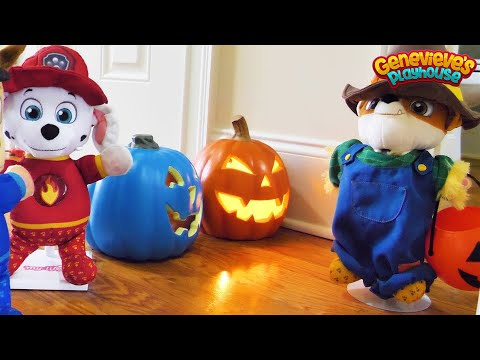 Paw Patrol Baby Pup Halloween Toy Learning Video for Kids