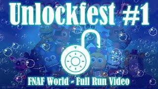 FNAF World Unlockfest #1 (All-Character Unlock + Move Showcase Video) - Winners in Description