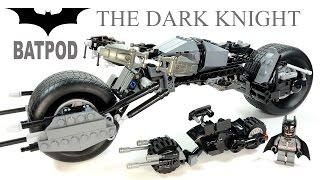 Batman's Bat-Pod from The Dark Knight Unofficial LEGO KnockOff Set