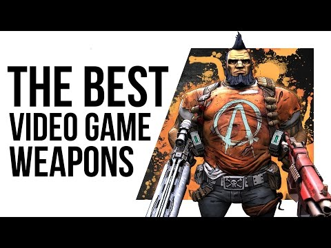 Are these the BEST WEAPONS in VIDEO GAME HISTORY