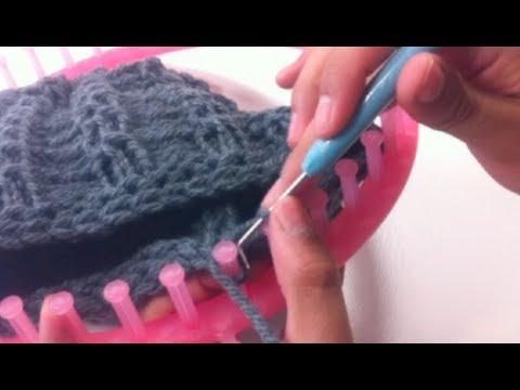 Cómo tejer con telar circular CERRAR PUNTOS