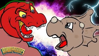 Dinosaur Story Season 1 Singalong | Dinostory | Dinosaur Songs for Kids from Howdytoons