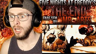 """Vapor Reacts #830 [SFM] FNAF 6 SONG COVER ANIMATION """"Everything Must be Ended"""" by _Mr_Arts_ REACTION"""