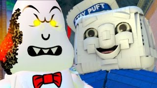 LEGO Dimensions Ghostbusters 1984 & 2016 All Cut Scenes & Endings (Story/Level Packs)