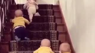 مقاطع مضحكه لأطفال كيوووت 😍😍اسعد الله مسائكم بكل خير وسعاده 🌹🌷👇👇