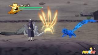 Naruto Shippuden: Ultimate Ninja Storm 3 - Obito vs Naruto Boss Battle (Playthrough Part 12)