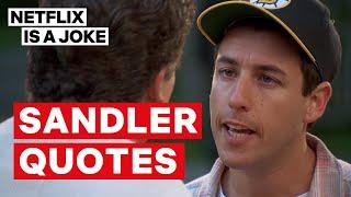 Adam Sandler: 100% Fresh   Sandler Quotes   Netflix