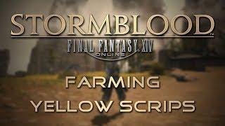 Stormblood Gathering Guide: Farming Yellow Scrips