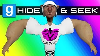 Gmod Hide and Seek - Buff Character Edition! (Garry's Mod Funny Moments)