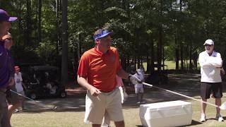 Dabo Swinney Pulls Prank On Dan Mullen At Golf Tournament