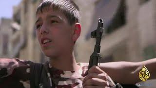 شقيقان في الجبهة - سوريا