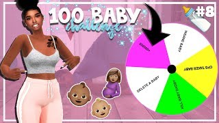 SIMS 4 100 BABY CHALLENGE with A TWIST #8 *TWINS BDAY*