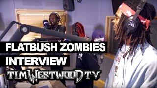 Flatbush Zombies on state of Hip Hop, beast coast, Skepta - Westwood