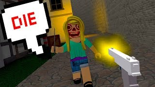 THE NEW ROBLOX MURDER GAME! *SO FUN!*