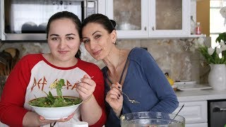 Basmati Rice Chickpea Salad Recipe - Heghineh Cooking Show with Lilyth