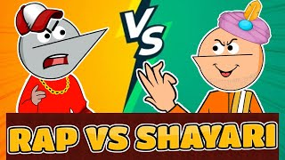 Rap Vs Shayari | Angry Prash