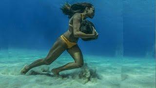 гавайская серфингистка Hawaiian surfer haa keaulana