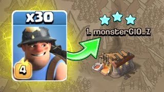 TRYING SOMETHING NEW!! WILL IT WORK? - Clash Of Clans - POST UPDATE ATTACK STRATEGY!