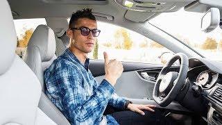 كريستيانو رونالدو يحصل على سيارة اودي جديدة مع زملائه في ريال مدريد
