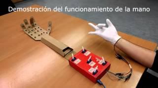 Mano Robótica: Proyecto Arduino (Grupo 9 URJC)