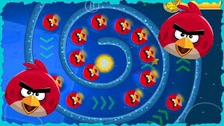 Angry Birds In Red Ball 4 INTO The Moon Mobile Game Walkthrough