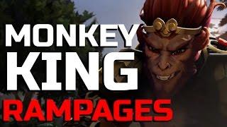 Dota 2 - MONKEY KING RAMPAGE MADNESS