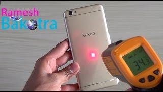 Vivo V5 Heating Test