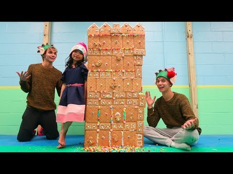Xxx Mp4 WE BUILT THE BIGGEST GINGERBREAD HOUSE WITH OUR LITTLE SISTER 3gp Sex