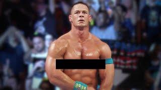 JOHN CENA NAKED AT WWE