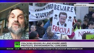 Fracking begins in Lancashire amid protests & environmental concerns