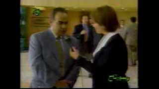 الأستاذ ممدوح كرم في لقاء تليفزيوني على القناة الثالثة المصرية