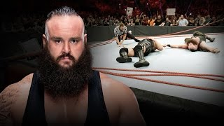 Braun Strowman breaks internet, ring and referee John Cone