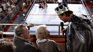 """Jerry """"The King"""" Lawler makes it personal with Bret Hart"""