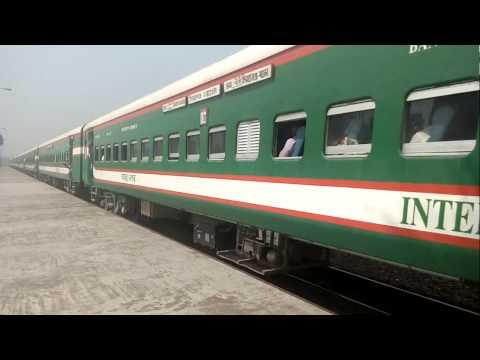 Dhaka bound Sirajganj Express is speedy crossing DACT RS.