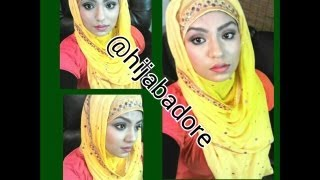 HOW TO USE DUPATTA FOR HIJAB STYLE (SHALWAR KAMEEZ SCARF)- TUTORIAL