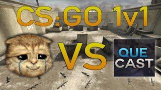 CS:GO 1v1 - Lirik vs QueCast - Winner gets 40$