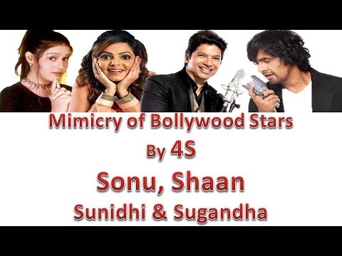 Xxx Mp4 Mimicry Of Bollywood Stars By 4S Sonu Nigam Sunidhi Chouhan Sugandha Mishra And Shaan 3gp Sex