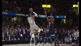 LeBron James Wins Play Of The Year With LeGoat Game Winner VS Twolves!