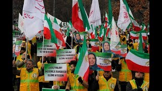 Iranians Rally Outside Warsaw Summit for Second Day, Call for Regime Change