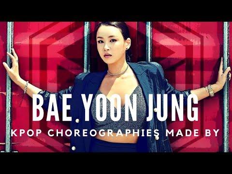 Kpop Choreographies made by Bae Yoon Jung
