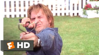 See Spot Run (2001) - The Mailman Fights Back Scene (7/8) | Movieclips